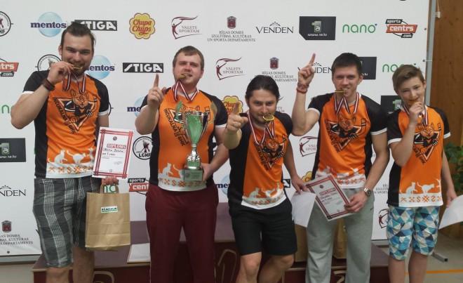 Inčukalna GHK - Latvijas komandu čempioni galda hokejā