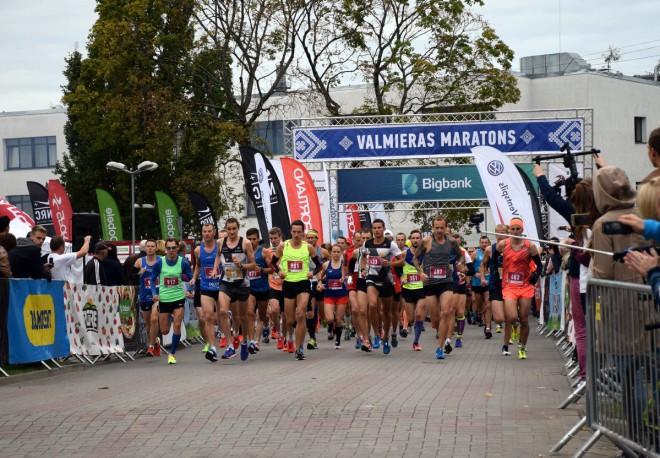 11. Valmieras maratons izaicinās sīkstākos jau šajā svētdienā