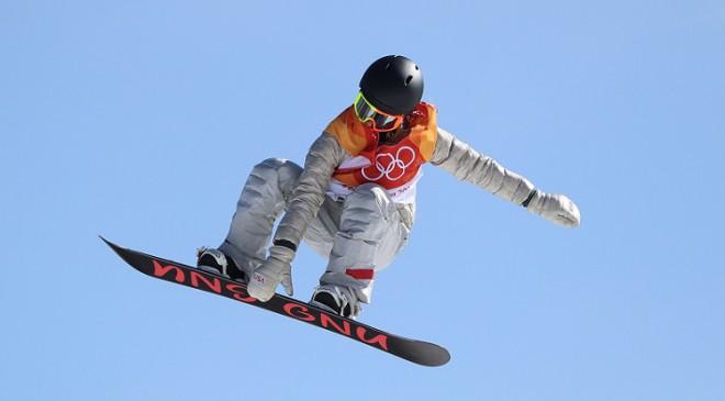 Andersone vējainajā laikā kļūst par divkārtējo olimpisko čempioni