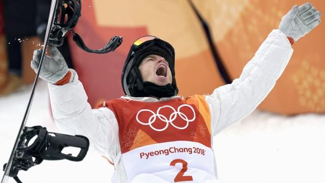 Rampas karalis Šons Vaits kļūst par trīskārtējo olimpisko čempionu