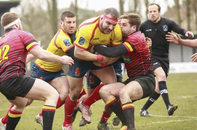 """""""World Rugby"""" pieprasa pārspēlēt Spānijas un Beļģijas maču"""