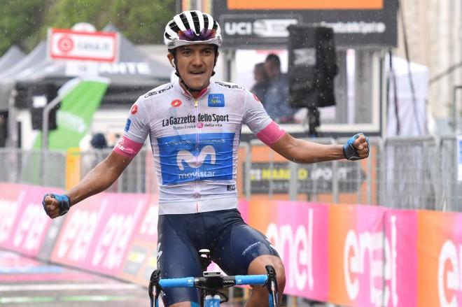 """Pirmoreiz """"Giro"""" posmā uzvar ekvadorietis, Neilandam 123. vieta"""