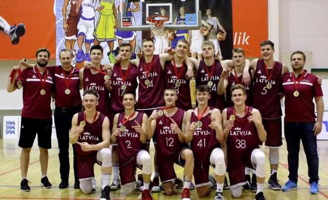 Vēverim 17 punkti, U18 puiši eksperimentālā spēlē piekāpjas Igaunijai
