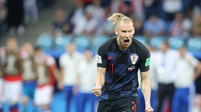 """""""Slava Ukrainai!"""" otrais cēliens: publicēts vēl viens video ar Horvātijas izlases aizsargu Vīdu"""