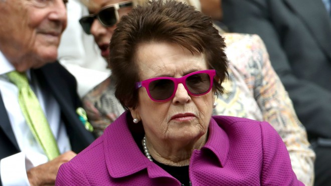 """Billija Džīna Kinga: """"Sekot Ostapenko ir ļoti  interesanti"""""""