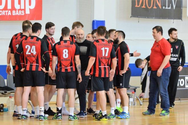 """""""Tenax"""" un """"Celtnieks"""" ar uzvarām sāk Baltijas handbola līgas jauno sezonu"""