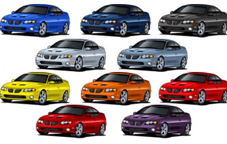 Ko automobiļa krāsa liecina par raksturu un dzīvesveidu (+8 padomi)