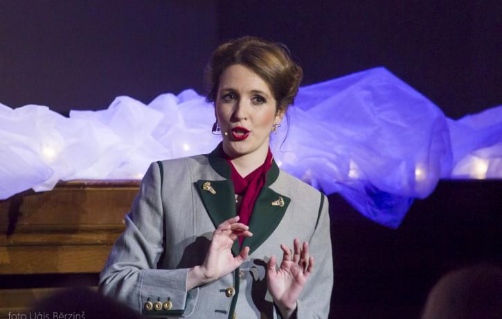 Zāra Leandere – Madame Scandeleuse Austrijas džeza grupas koncertprogrammā