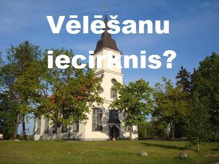 Ko dara partiju aģitatori baznīcās?