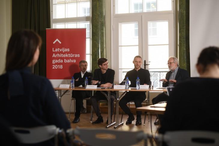 Paziņoti Latvijas Arhitektūras gada balvas 2018 nominanti