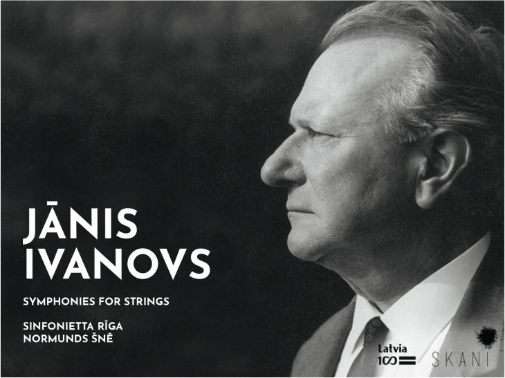 """SKANI izdod albumu """"Ivanovs: Simfonijas kamerorķestrim"""" klausītājiem visā pasaulē"""