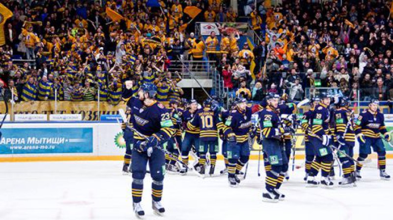 ''Atlant'' hokejisti Foto: www.atlant-mo.ru