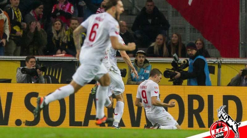 Rudņevs līksmo Foto: FC Köln
