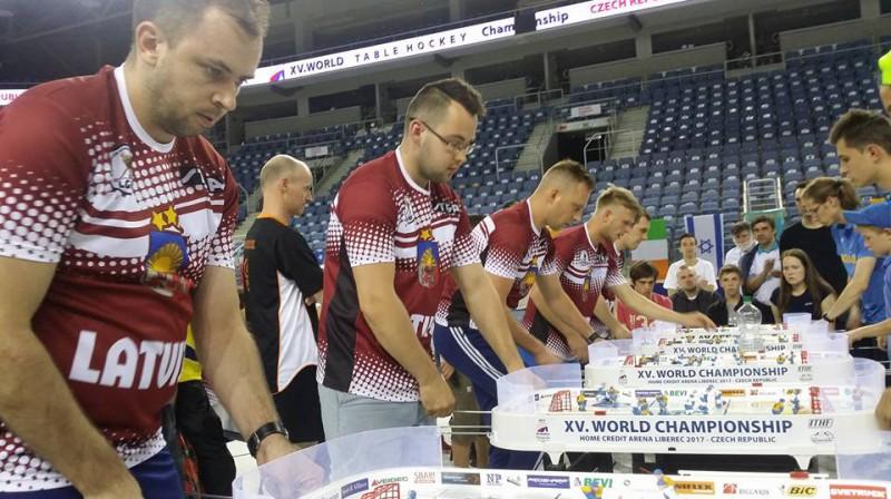 Latvijas galda hokeja izlase