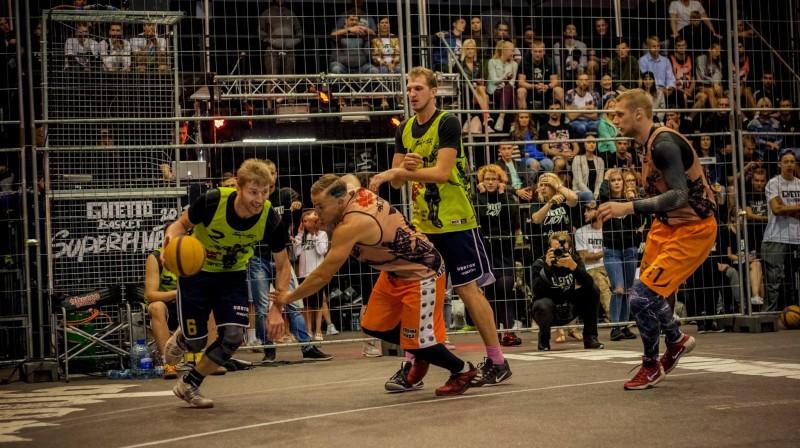 """2017. gada """"Ghetto Basket"""" Superfināls Grīziņkalnā Publicitātes foto"""