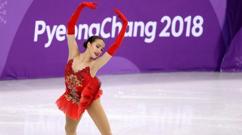 Alīna Zagitova. Foto: Valērijs Šarifuļins, tass.ru