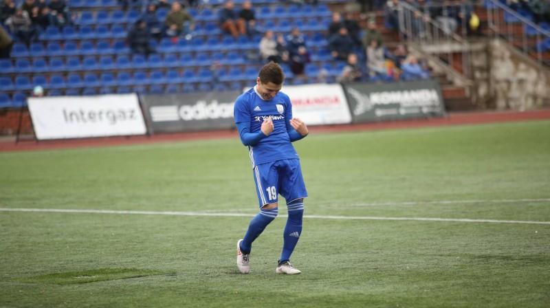 Daugavpils/Progress futbolists Valērijs Afanasjevs. Foto no komandas Facebook profila