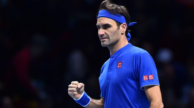 Rodžers Federers. Foto: AFP/Scanpix