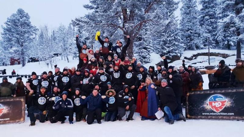 Spēkavīru Čempionu līgas sacensības Norvēģijā. Organizatoru foto