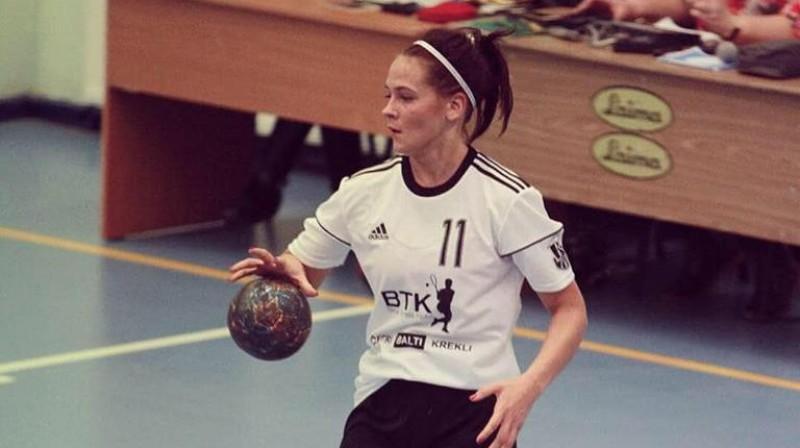 Kristīne Daņiļenko. Foto: LSPA women handball team