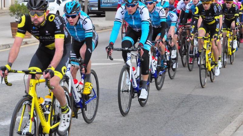 Aleksejs Saramotins (trešais no kreisās) Foto: Interpro Cycling academy