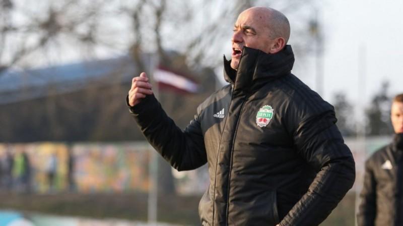 """""""Liepājas"""" galvenais treneris Gordons Jangs. Foto: FK Liepāja"""