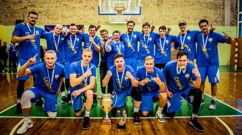 LBL3 čempioni 2019: Cēsis/Cēsu sporta skola. Foto: basket.lv