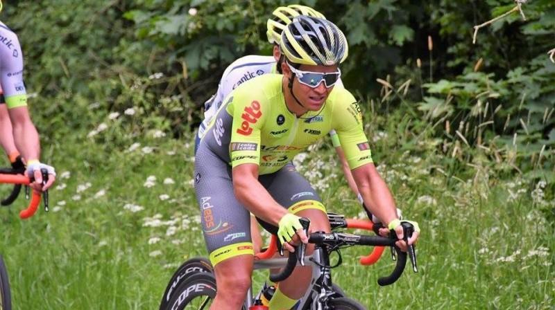 Emīls Liepiņš. Foto: Wallonie - Bruxelles komandas arhīvs