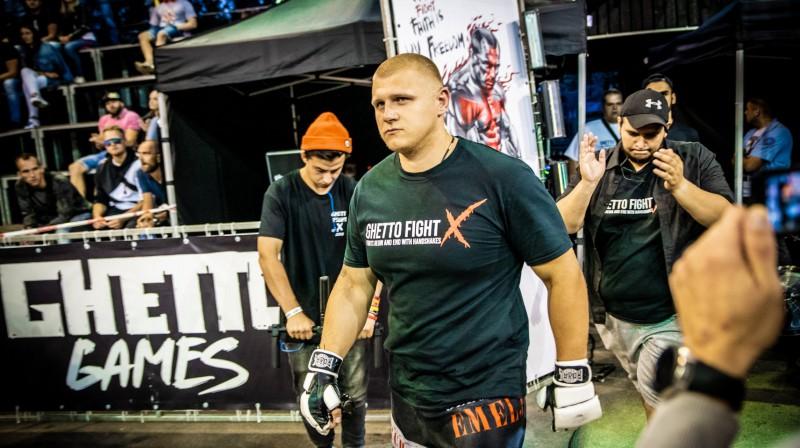 Oļegs Jmeļjanovs. Foto: Ghetto Fight