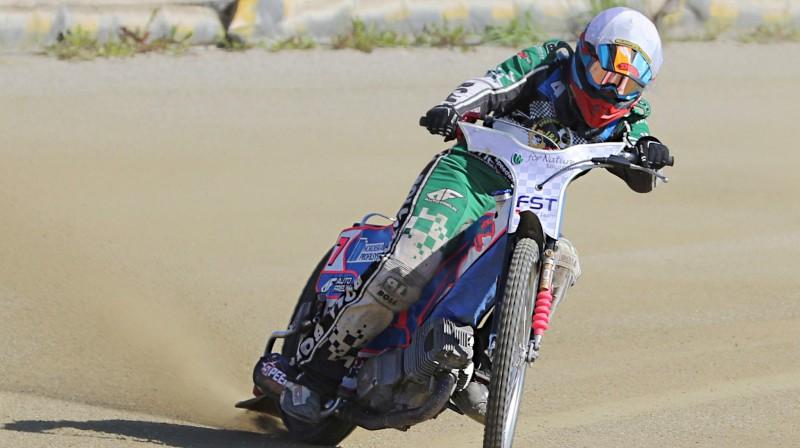 Francis Gusts sekmīgi debitēja Polijas junioru komandu čempionātā spīdvejā.