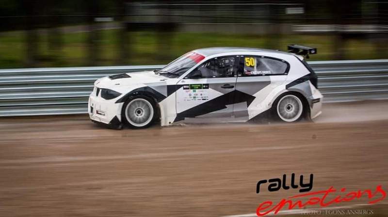 Kristaps Grunte. Foto: Rallyemotions.lv