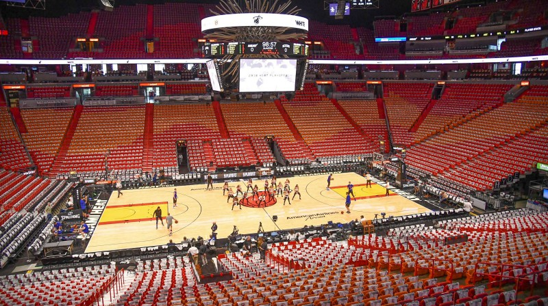 """American Airlines Arena"". Foto: AFP/Scanpix"