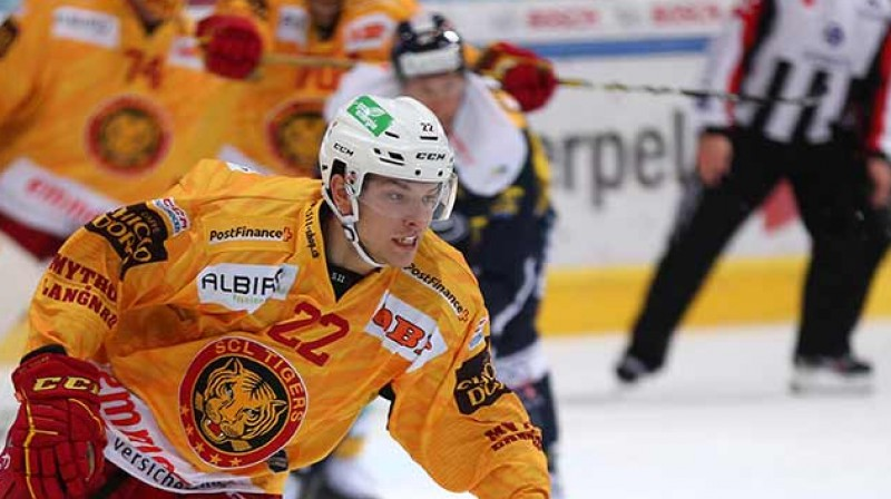 Toms Andersons. Foto: SCL Tigers