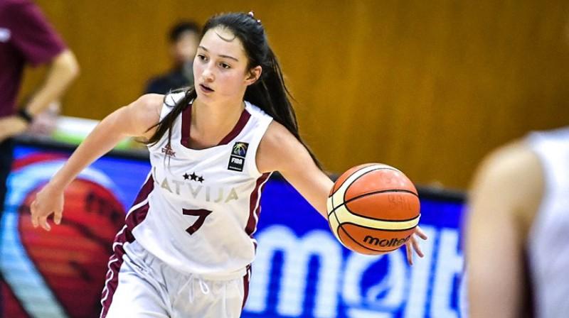 Paula Kļeščova. Foto: FIBA