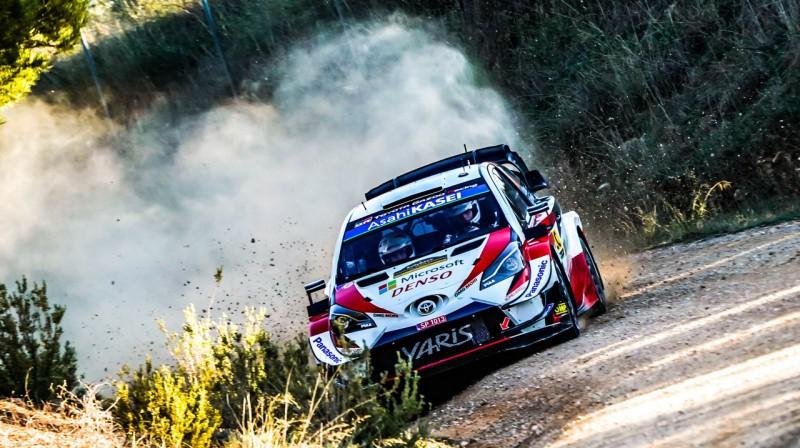 Ots Tanaks. Foto: Toyota Gazoo Racing