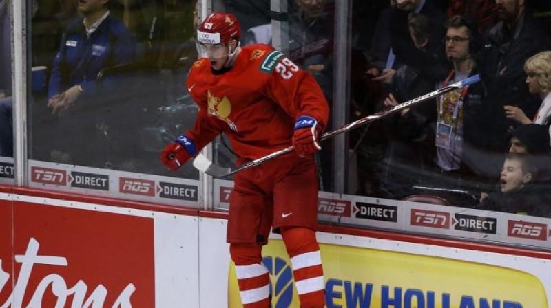 Kirils Sļepecs. Foto: Krievijas Hokeja federācija