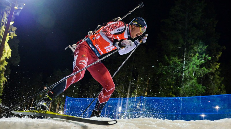 Andrejs Rastorgujevs. Foto: Andrei Ivanov/Latvijas Biatlona federācija