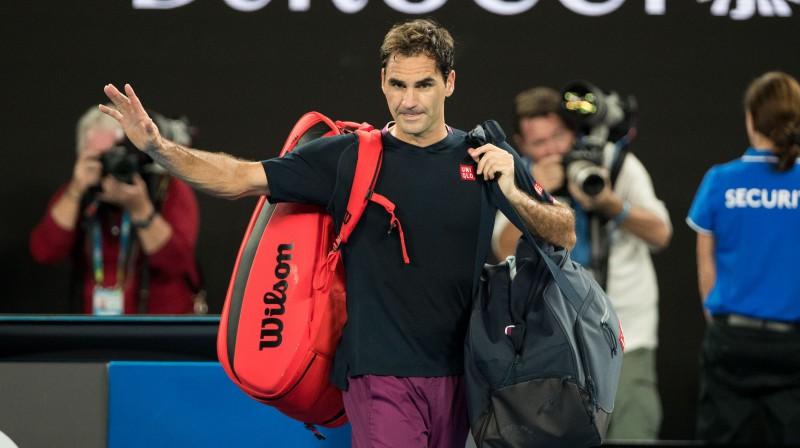 Rodžers Federers. Foto: Sipa Press/Scanpix