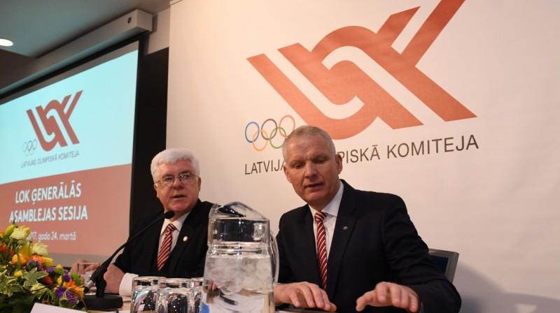 Aldons Vrubļevskis un Žoržs Tikmers. Foto: Romāns Kokšarovs, F64