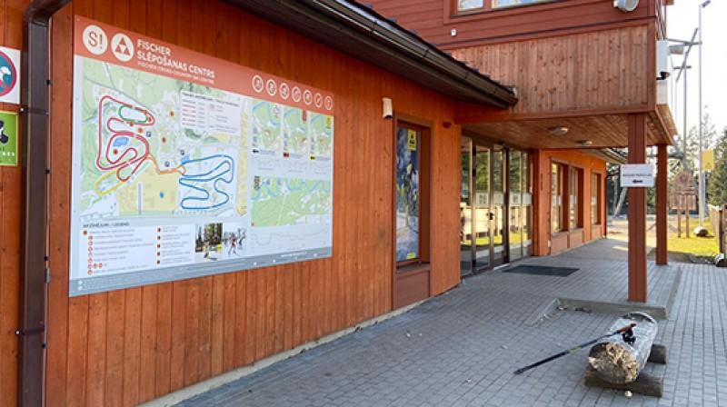 """Fischer"" slēpošanas centrs. Foto: siguldassports.lv"