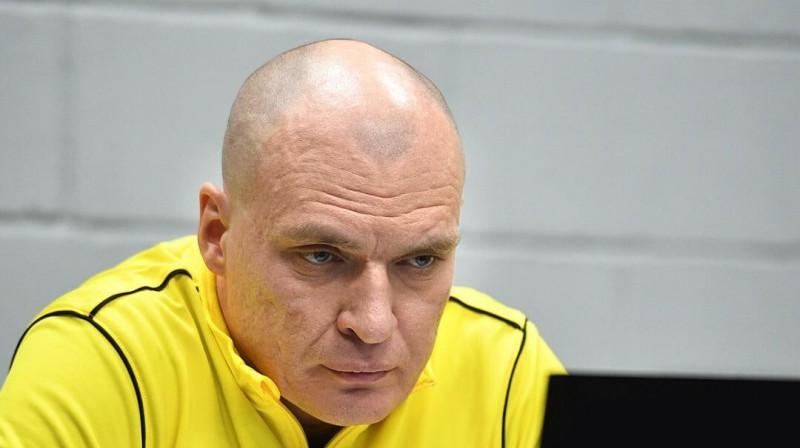 Čerepovecas kluba galvenais treneris Andrejs Razins. Foto: severstalclub.ru