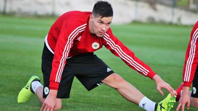 Dmitrijs Hmizs. Foto no FK Liepāja Facebook lapas.