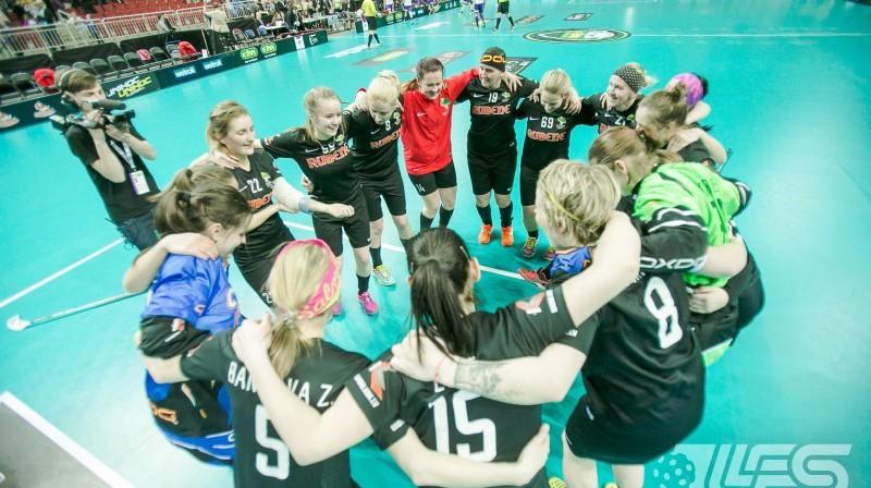 """Pēdējos gados toni Latvijas sieviešu florbolā diktē """"Rubene"""" Foto: Floorball.lv"""