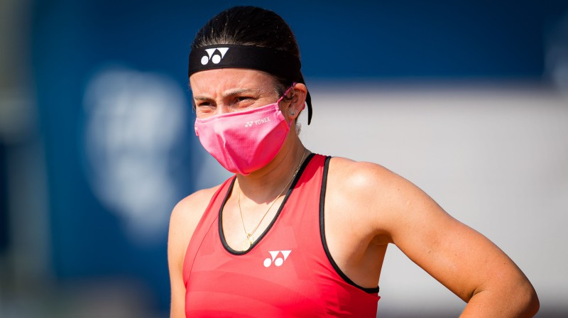Anastasija Sevastova. Foto: AFP/Scanpix