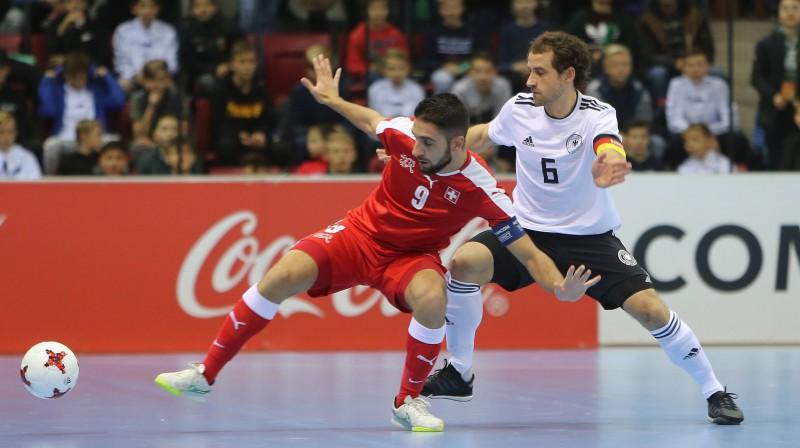Šveice pret Vāciju. Foto: imago/Sportfoto Rudel/Scanpix