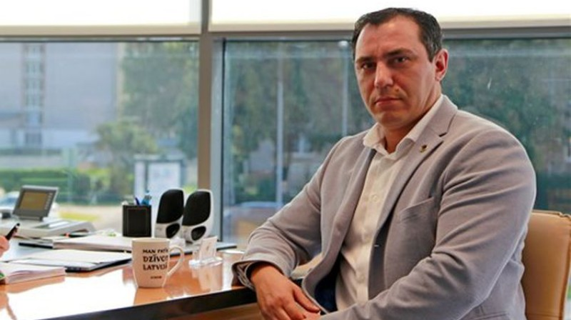 Sandris Riekstiņš. Foto: LFF