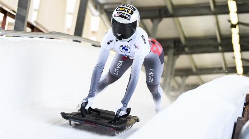 Endija Tērauda. Foto: Viesturs Lācis/bobslejs.lv