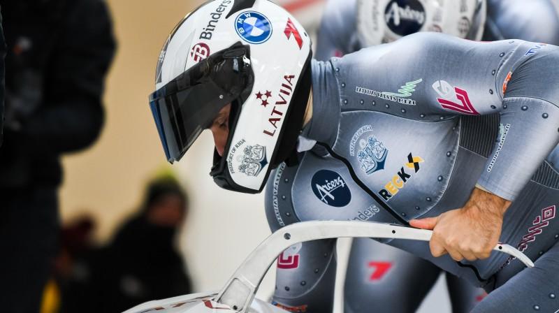 Oskars Ķibermanis. Foto: Viesturs Lācis/bobslejs.lv