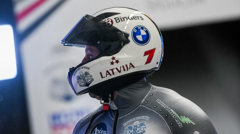 Oskars Melbārdis. Foto: Viesturs Lācis/bobslejs.lv