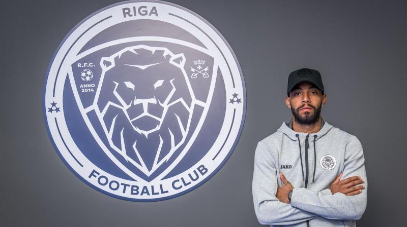 Gabriels Ramoss. Foto: Zigismunds Zālmanis, Riga FC